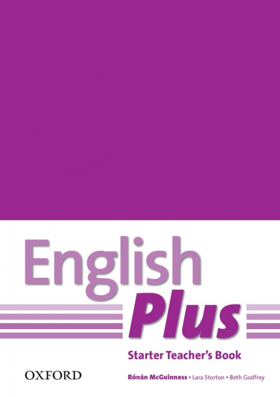 English Plus Starter Teacher´s Book with Photocopiable Resources : 9780194749091