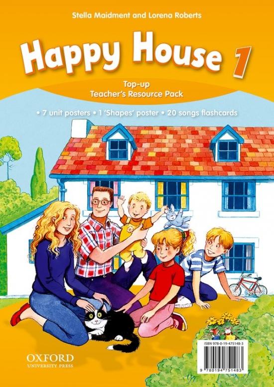 Happy House 3rd Edition 1 Top up Teacher´s Resource Pack