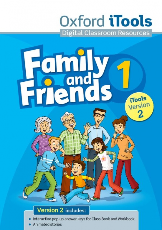 Family and Friends 1 iTools (Version 2) : 9780194814126