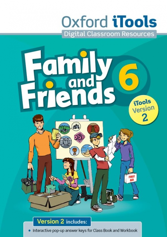 Family and Friends 6 iTools (Version 2) : 9780194814171