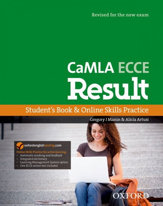 ECCE Result Cambridge & Michigan Language Assessment Student´s Book and Online Skills Practice Pack