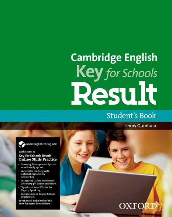 Cambridge English Key For Schools Result Student´s Book and Online Skills Practice : 9780194817615