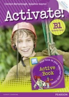 Activate! B1 Student´s Book with ActiveBook CD-ROM & Internet Access Code : 9781447929277