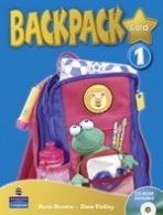 Backpack Gold 1 Student´s Book with CD-ROM New Edition