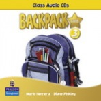 Backpack Gold 3 Class Audio CD New Edition : 9781408243244