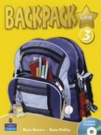 Backpack Gold 3 Student´s Book with CD-ROM New Edition