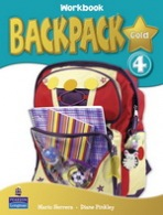 Backpack Gold 4 Workbook with Audio CD New Edition : 9781408245088