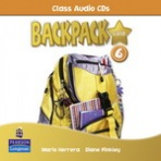 Backpack Gold 6 Class Audio CD New Edition