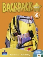 Backpack Gold 6 Student´s Book with CD-ROM New Edition