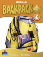 Backpack Gold 6 Workbook with Audio CD New Edition