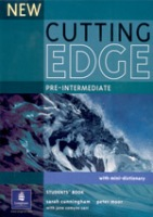New Cutting Edge Pre-Intermediate Student´s Book : 9780582825093