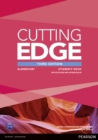 Cutting Edge Elementary (3rd Edition) Student´s Book with Class Audio & Video DVD & MyLab Internet Access Code