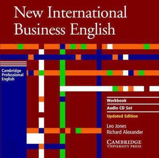 New International Business English Updated Edition Workbook Audio CD Set