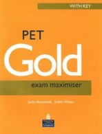 PET Gold Exam Maximiser New Edition with Answer Key : 9780582824799