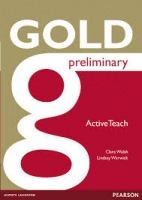 Gold Preliminary ActiveTeach (Interactive Whiteboard Software) : 9781447907312