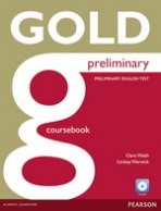 Gold Preliminary Coursebooks with CD ROM Pack