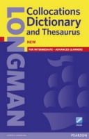 Longman Collocations Dictionary and Thesaurus Cased with Online Access : 9781408252253