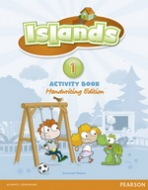 Islands Handwriting 1 Activity Book with Online Access : 9781447903109