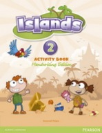 Islands Handwriting 2 Activity Book with Online Access : 9781447903093
