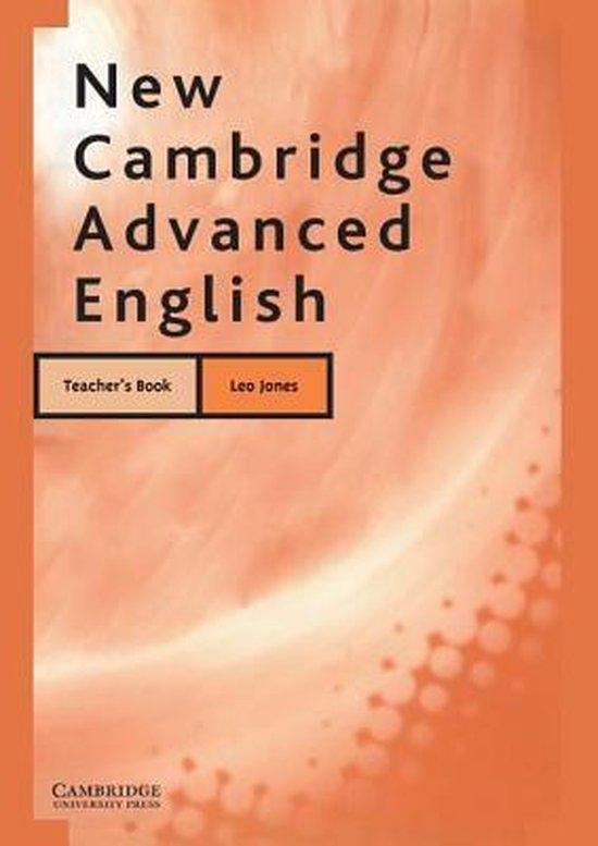 New Cambridge Advanced English Teacher´s book