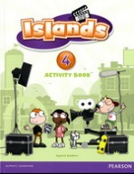 Islands 4 Activity Book with Online Access : 9781408290422