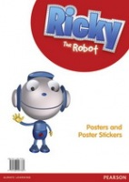 Ricky the Robot Poster and Sticker Pack