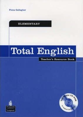 Total English Elementary Teachers Book with Test Master CD-ROM : 9781405843195