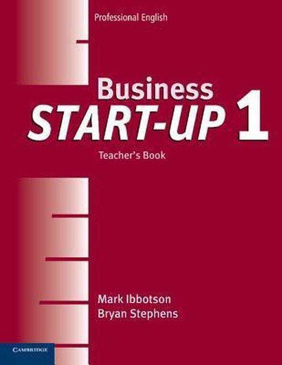 Business Start-Up 1 Teacher´s Book