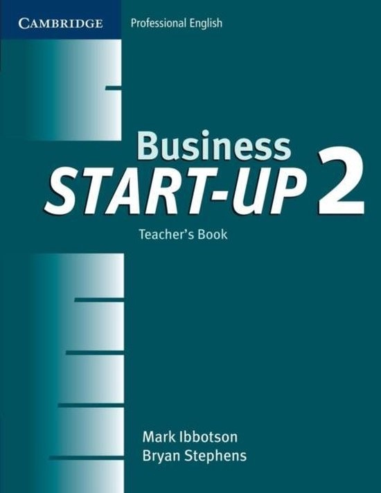 Business Start-up 2 Teacher´s Book