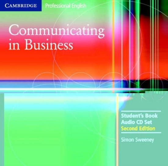 Communicating in Business 2nd Edition Audio CD Set