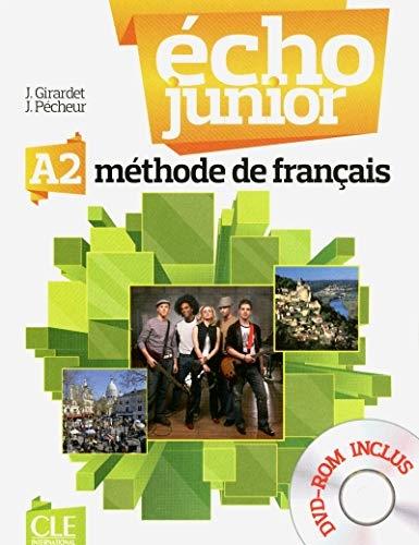 Écho Junior A2 Livre de l´éleve + DVD-ROM