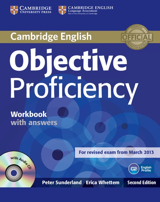 Objective Proficiency (2nd Edition) Workbook with Answers with audio CD