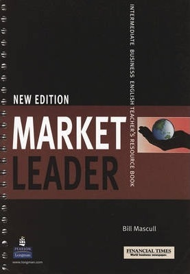 MARKET LEADER Intermediate new edition Teacher´s book with DVD and Test Master CD-ROM : 9781405843454