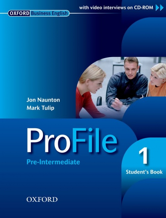 PROFILE 1 STUDENT´S BOOK + CD-ROM : 9780194575751