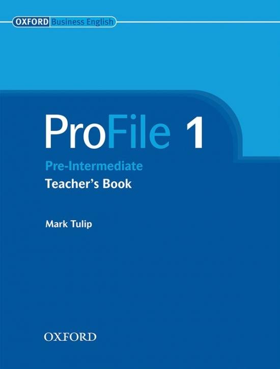 PROFILE 1 TEACHER´S BOOK