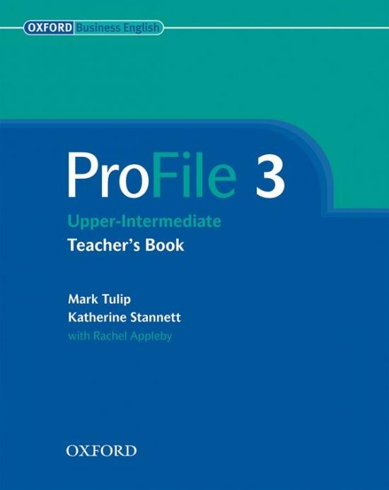 PROFILE 3 TEACHER´S BOOK : 9780194575898