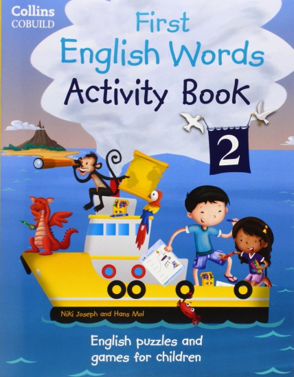 Collins First English Words Activity Book 2