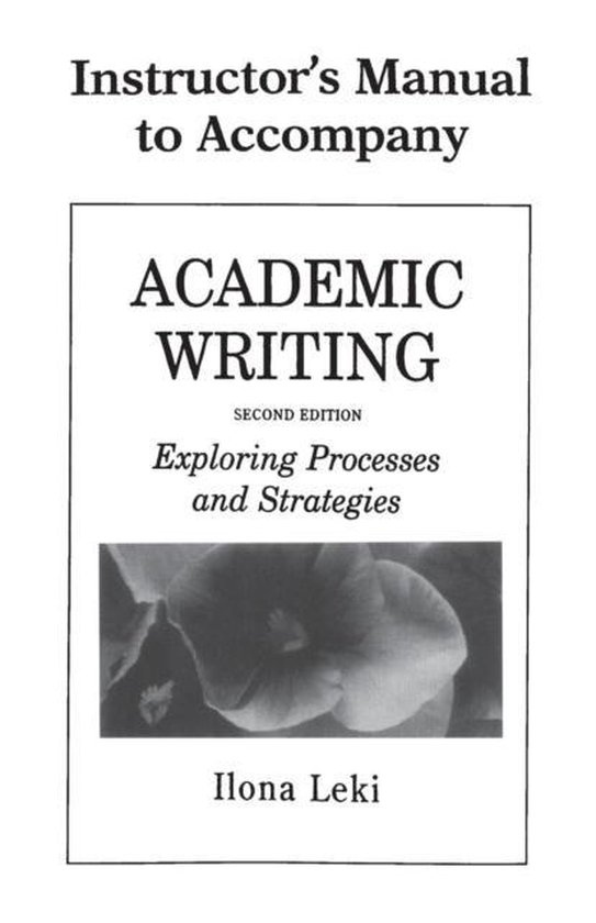 Academic Writing Instructor´s Manual : 9780521657679