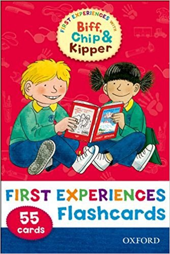 READ WITH BIFF, CHIP & KIPPER FIRST EXPERIENCES FLASHCARDS (Oxford Reading Tree)