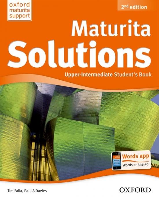 Maturita Solutions (2nd Edition) Upper-Intermediate Student´s Book Czech Edition