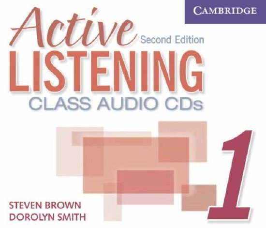 Active Listening Second Edition Level 1 Class Audio CDs (3) : 9780521678155