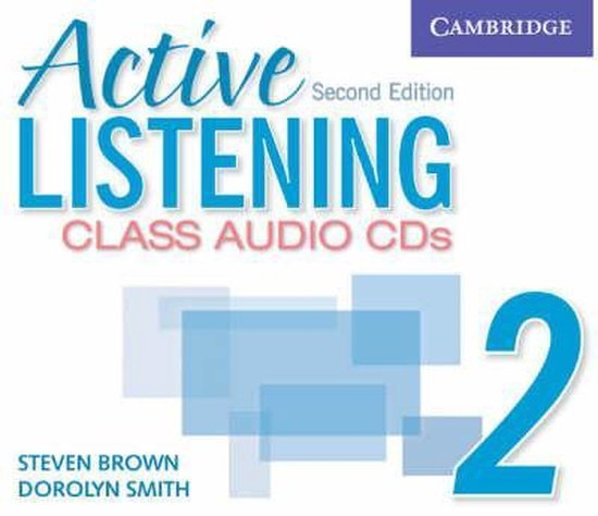 Active Listening Second Edition Level 2 Class Audio CDs (3)