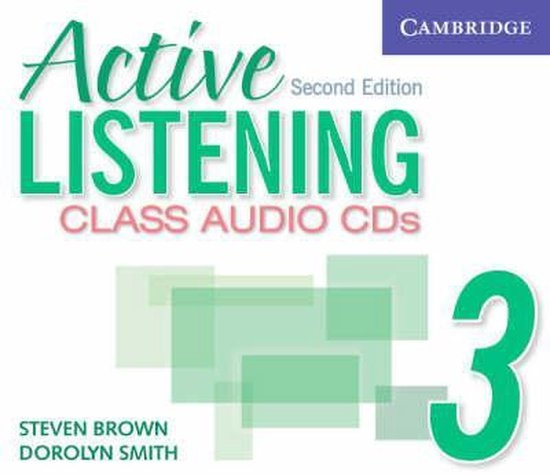 Active Listening Second Edition Level 3 Class Audio CDs (3) : 9780521678230