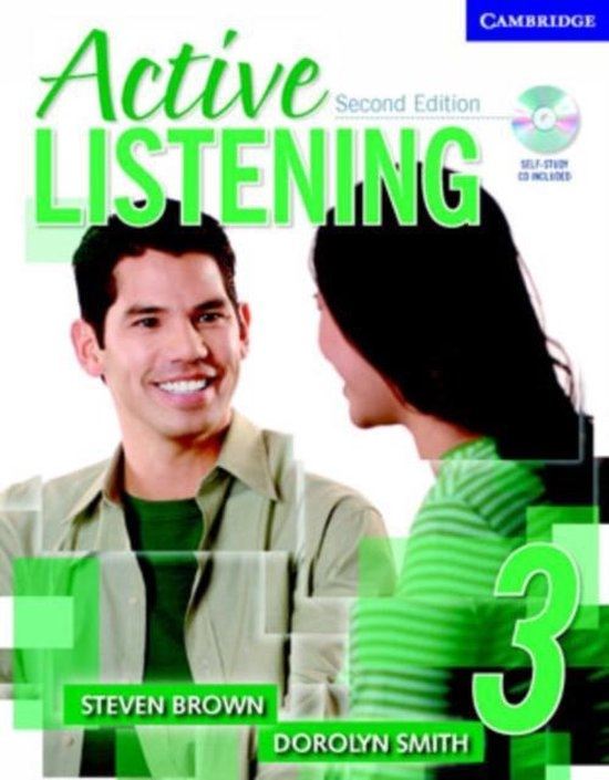 Active Listening Second Edition Level 3 Student´s Book with Self-study Audio CD