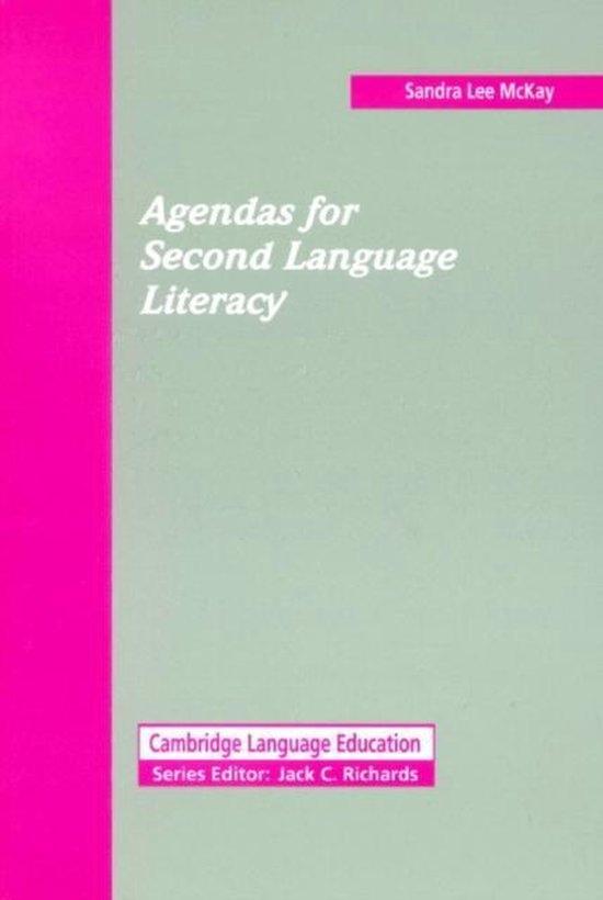 Agendas for Second Language Literacy : 9780521446648