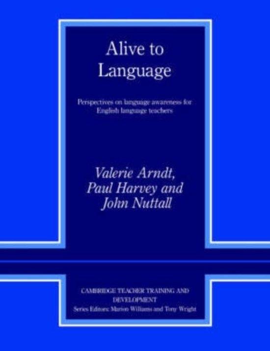 Alive to Language PB