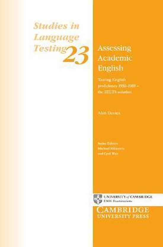 Assessing Academic English Paperback : 9780521542500