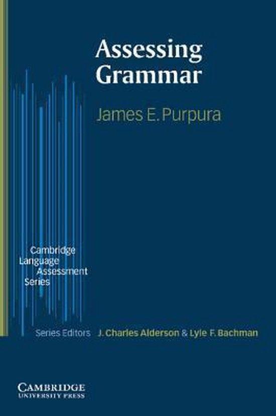 Assessing Grammar PB : 9780521003445