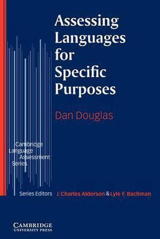 Assessing Languages for Specific Purposes PB : 9780521585439
