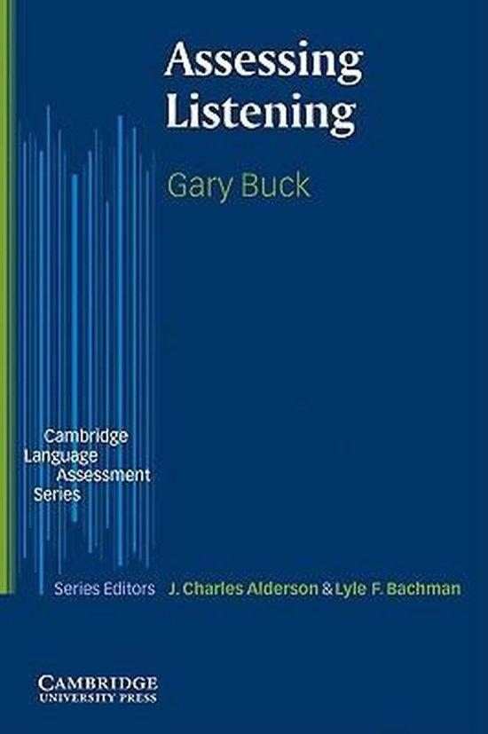 Assessing Listening PB : 9780521666619